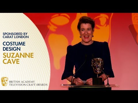 Suzanne Cave Wins Costume Design for A Very English Scandal | BAFTA TV Craft Awards 2019