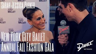 Dance Network | NYC Ballet Annual Fall Fashion Gala | Sarah Jessica Parker