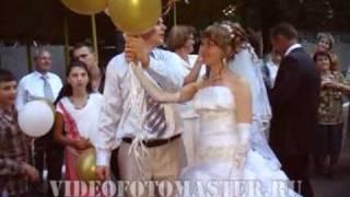 Выпускание свадебных шаров, videofotomaster.ru