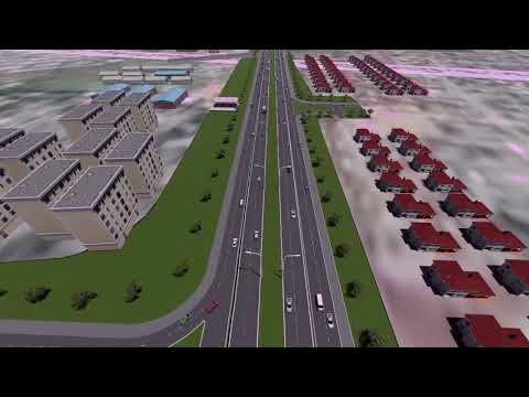 Outer Ring Road Artistic Impression.