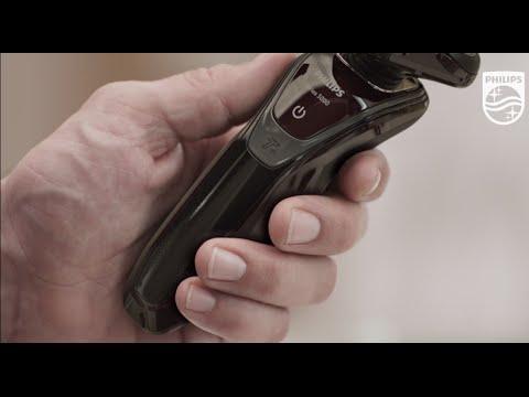 Máquina de barbear Philips Serie 5000 - YouTube ef310843b0ba