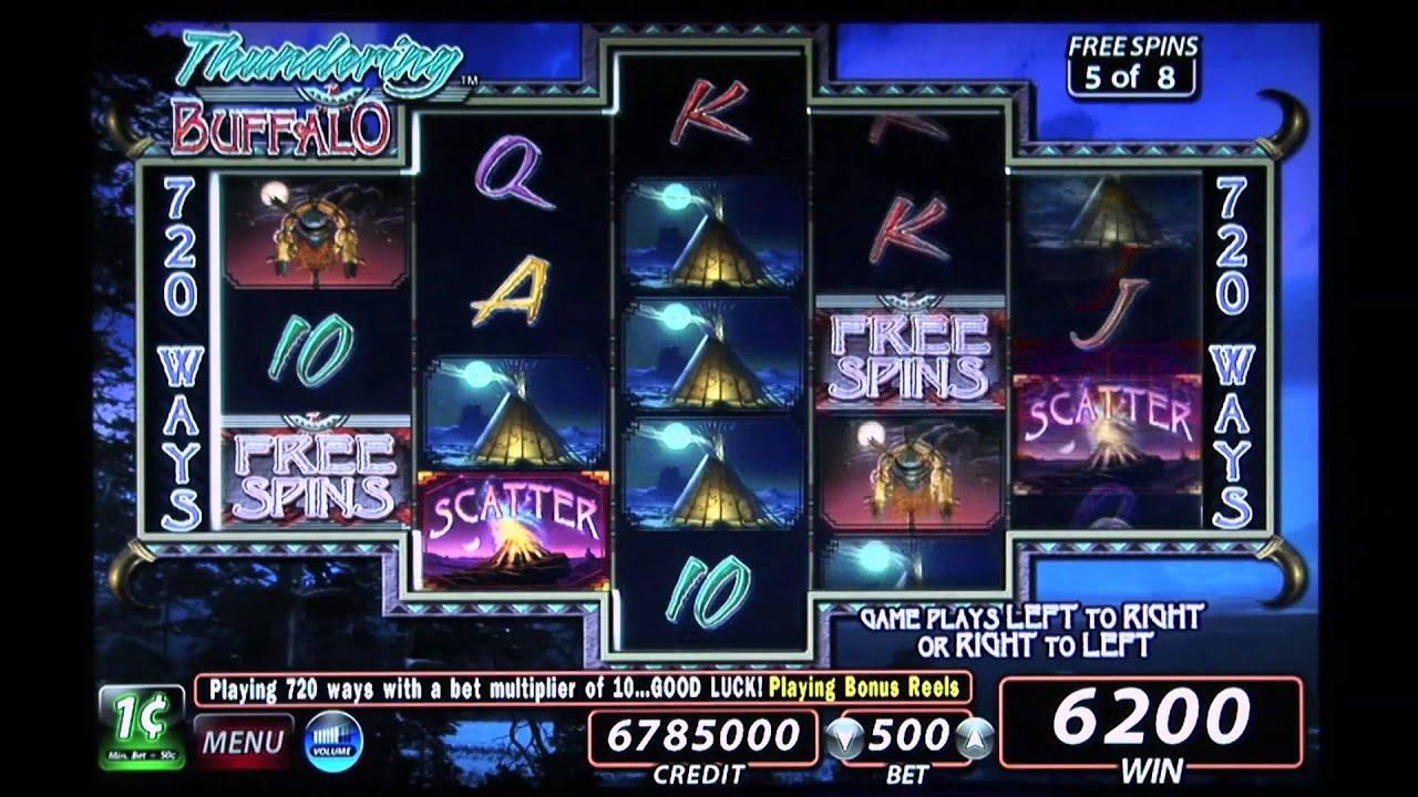 Buffalo Video Slots