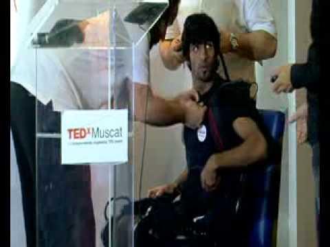 Ekso Bionics: Eythor Bender at TEDxMuscat 2012