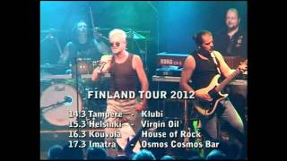 Graham Bonnet: Finland tour 2012 commercial