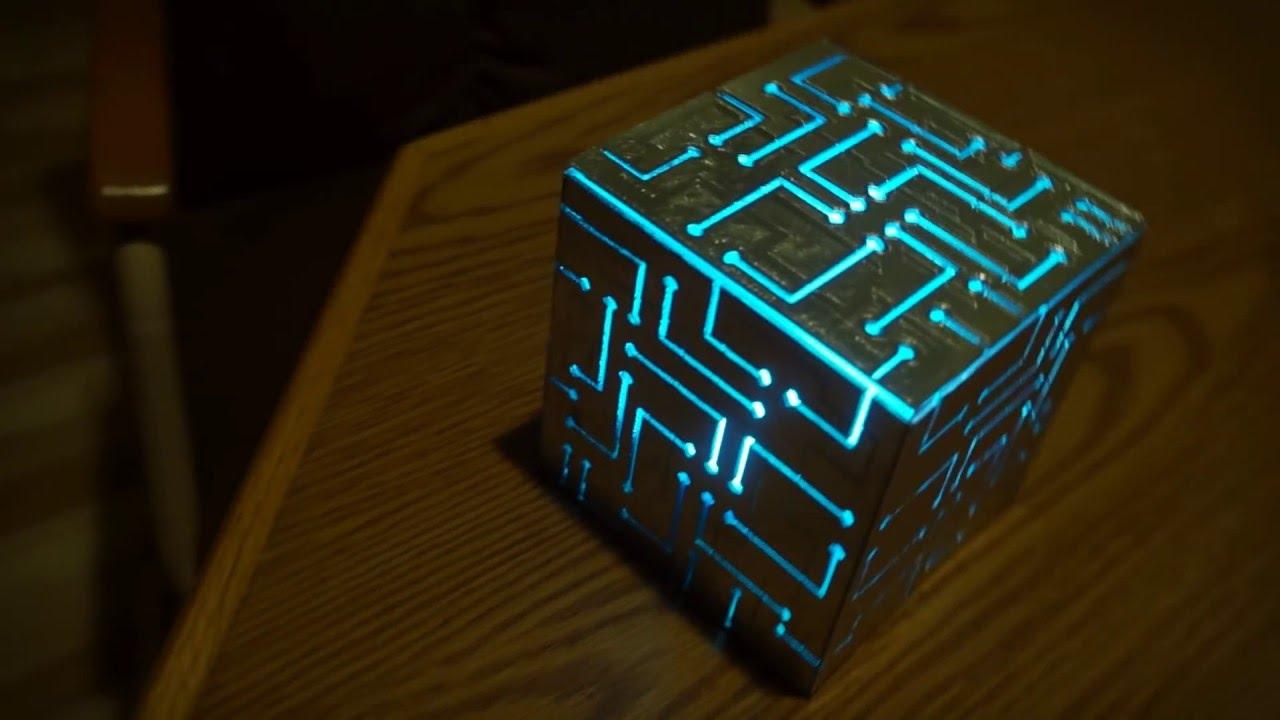 Tech 3d Free Live Wallpaper 3d Printed Alien Cube Youtube