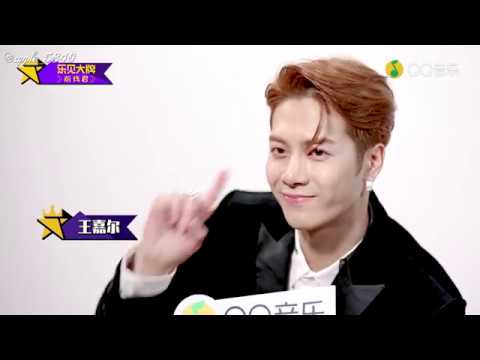 [Eng Sub] 181110 GOT7 Jackson's interview with QQ Music Yue Jian Da Pai