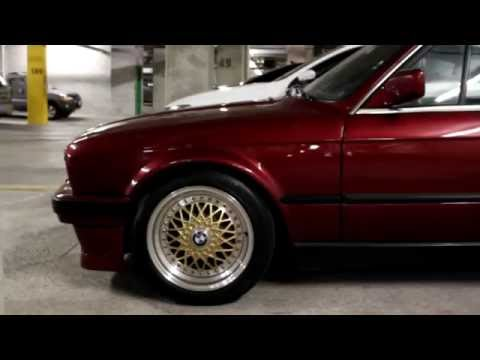 1991 Bmw E30 Calypsorot Metallic Convertible 325i Youtube