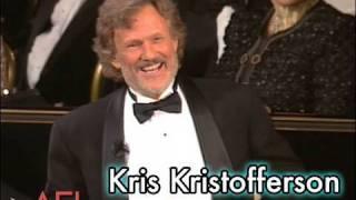Kris Kristofferson Salutes Martin Scorsese at the AFI Life Achievement Award