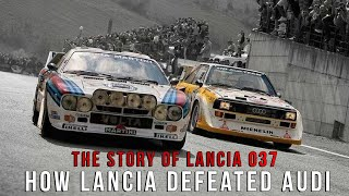 The Story Of Lancia 037 How Lancia Defeated Audi