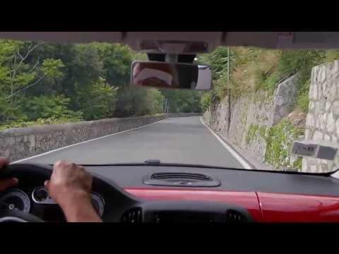Amalfi Drive in a Fiat 500L diesel