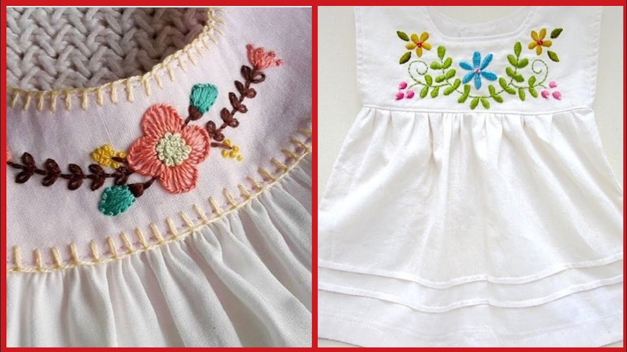 Outstanding Comfortable Embroidered Baby Frocks Designs For Summer 2019 Youtube,Adobe Illustrator 3d P Logo Design