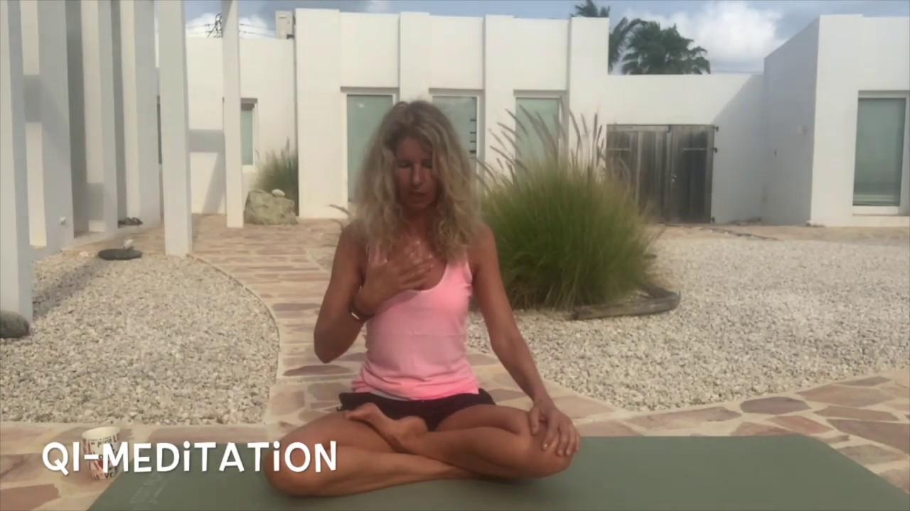 Meditation 🧘🏼♀️to raise your vibration