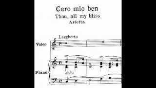 Caro mio ben - Learn Italian Songs with Chai-lun Yueh Series