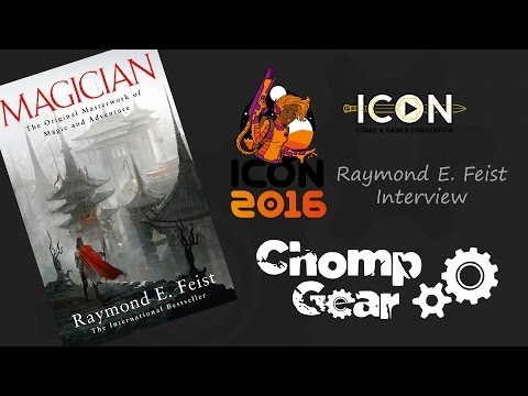 ICON 2016 Raymond E. Feist Interview