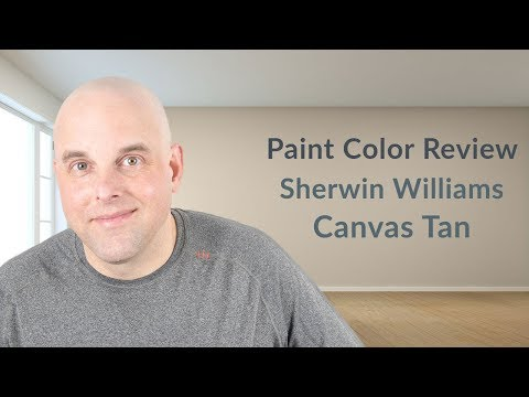 Sherwin Williams Canvas Tan Color Review Youtube