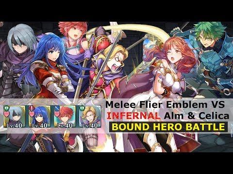 [FEH] Melee Flier Emblem vs Alm & Celica...