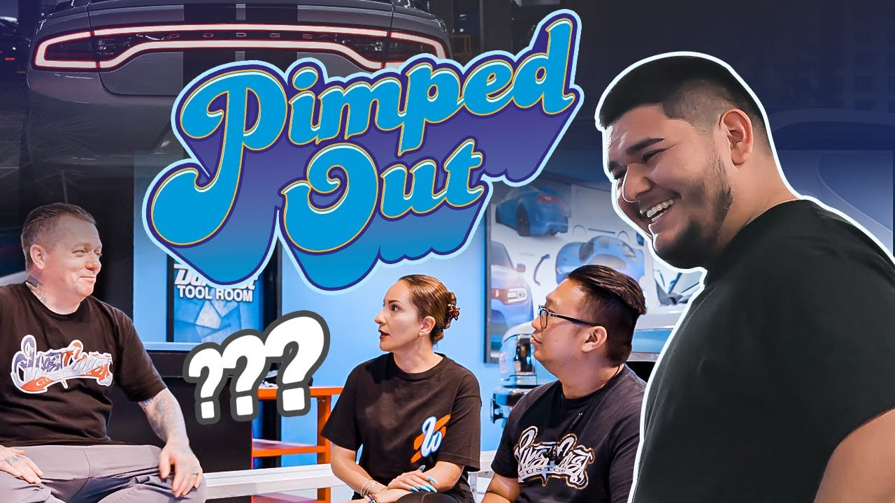 """Lucky Customer Was LOST FOR WORDS After Seeing His Pimped Out Charger 