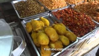deepfried crayfish  Chinese street food
