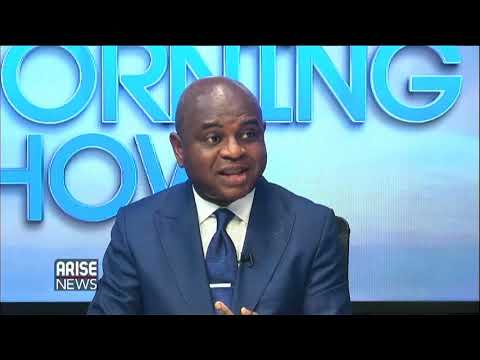 Kingsley Moghalu discussing his party manifesto & the political scene in Nigeria