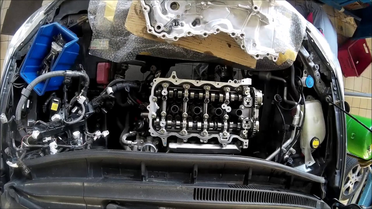 1NR FE engine repair on car - ...