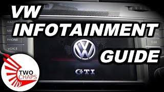 2016 VW Infotainment System Walk Through
