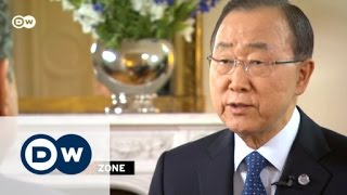 فيديو.. بان كي مون رافضا اتهام «الأسد» بالقتل الجماعي: «مجلس الأمن من يقرر ذلك»