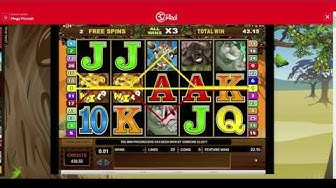 Mega Moolah Jackpot Slot Review - 32Red Casino