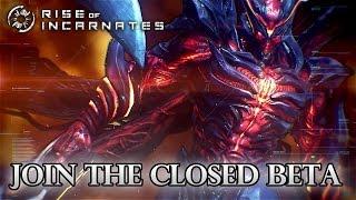 Rise of Incarnates - PC - SDCC Beta Announcement Trailer (PEGI Trailer)