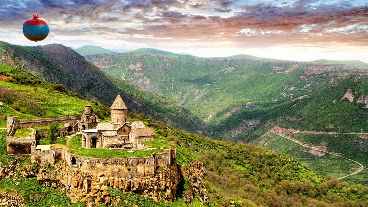Монастырь Татев (Տաթևի վանք/Tatev monastery) - YouTube