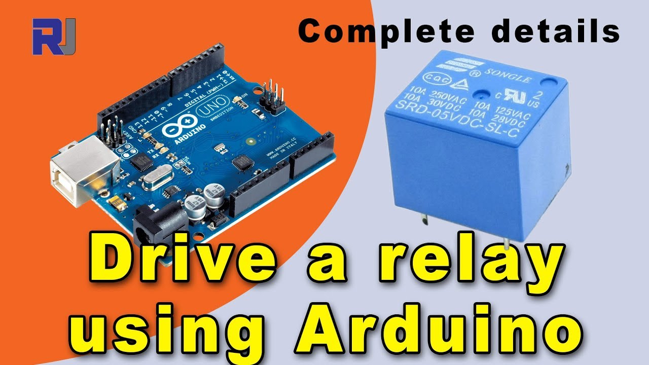 How To Use Relay With Arduino Control Ac Or Dc Load Youtube Drive By Digital Circuit