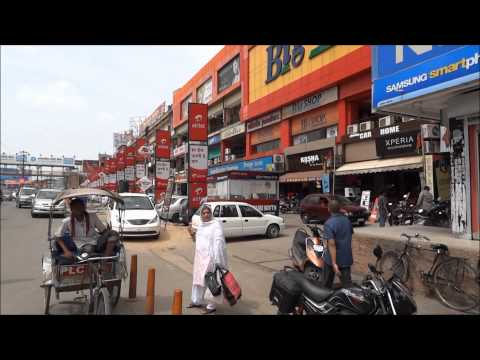 "Glimpses of ""Main Road"" of Ranchi"