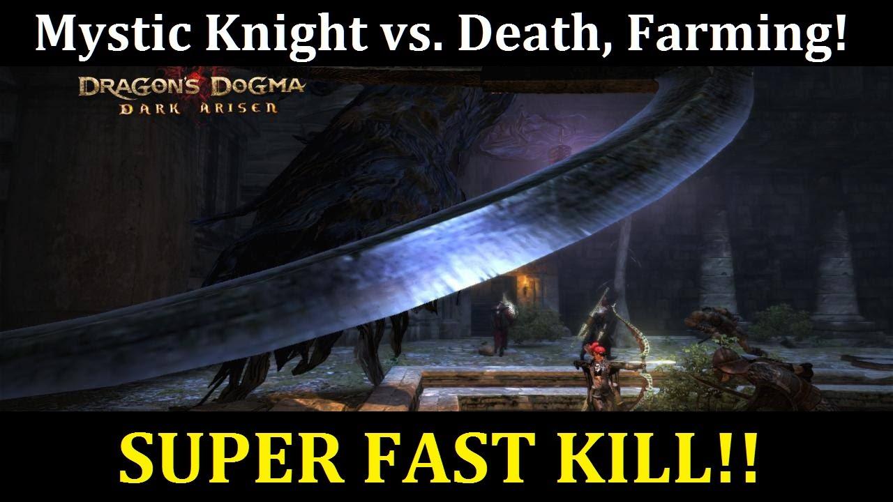 Video Dragons Dogma Dark Arisen Mystic Knight Vs Death Full
