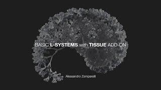 L-Systems with Tissue add-on in Blender