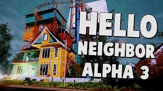Hello Neighbor - ALPHA 3 Gameplay & Ending