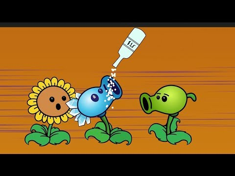Plants vs Zombies GW Animation Episode 10 vs Peashooter Pea,Angry Birds vs Surfer Zombie