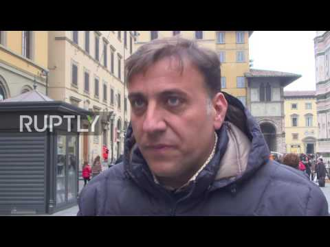 Italy: Florence gears up for historic constitutional referendum