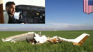 Selfie causes plane crash: pilot distracted by flash from mid-flight selfie, crashes aircraft