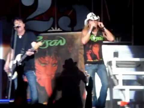POISON - WE'RE AN AMERICAN BAND @ BILL GRAHAM CIVIC AUDITORIUM SAN FRANCISCO CA 06-15-2011