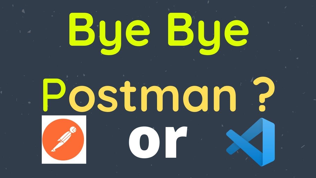 Thunder Client in VS Code | Best alternative to Postman