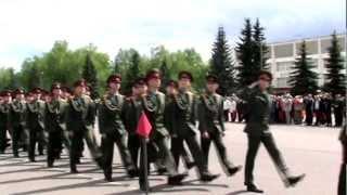 МВВКУ на Параде Победы 9 мая 2012 года.