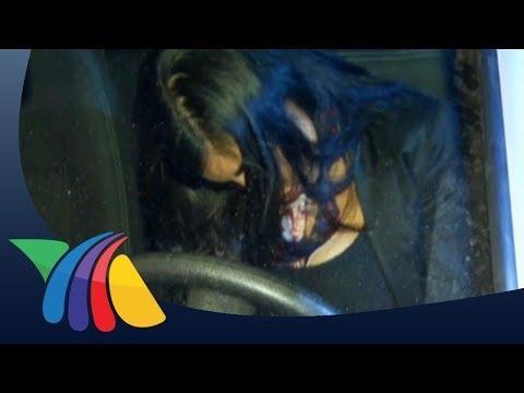 Conductora ebria choca y se queda dormida en NL