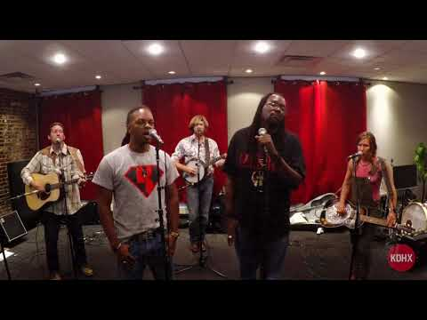 """Gangstagrass """"Will The Circle Be Unbroken"""" Live at KDHX 7/25/17"""