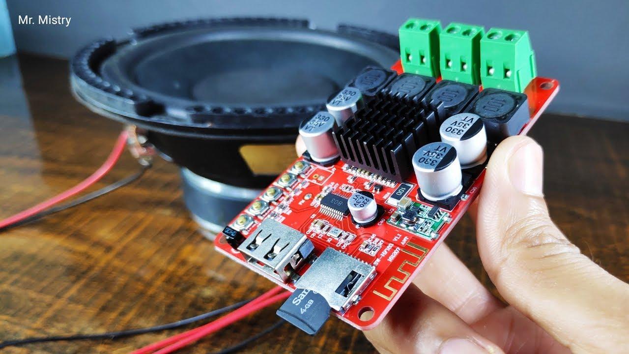 8-26V TPA3116 2x50W Wireless Bluetooth Audio Empfänger Digital Verstärker Modul