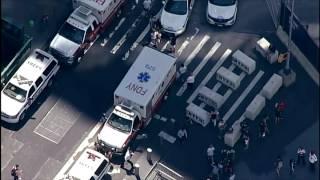Person falls at World Trade Center PATH station