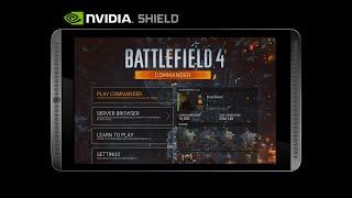 Nvidia Shield Tablet - Battlefield 4 Commander Mode - Built-In Recording (HD Shield Gameplay)