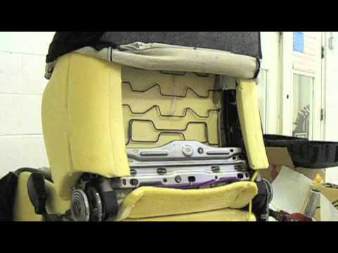 Car Lumbar Support Installation - YouTube