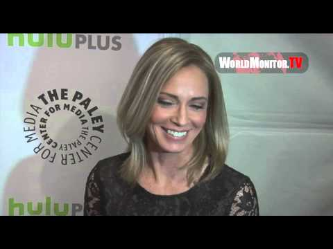 Susanna Thompson, David Ramsey arrive at Arrow Panel PaleyFest 2013