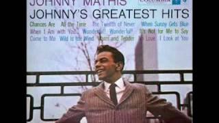 Johnny Mathis: Chances Are (Allen / Stillman, 1957)