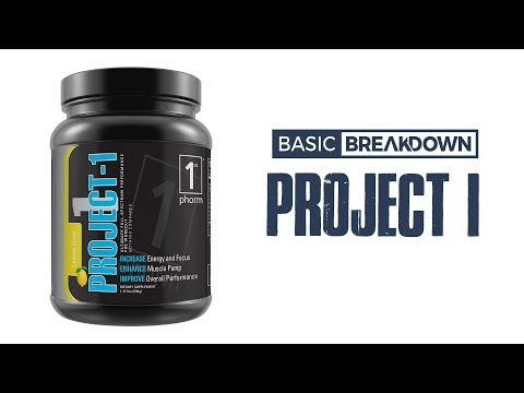 1st Phorm Project 1 Pre-Workout Supplement Review | Basic Breakdown
