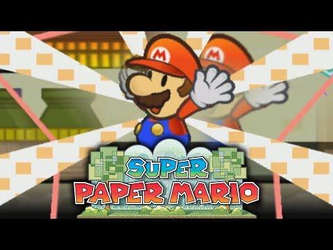 MARIO PAPIER PASSE EN 3D ! - SUPER PAPER MARIO #02